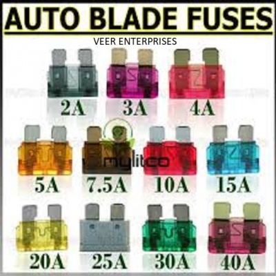 BLADE FUSE MINI 3A (PACK - 100nos)