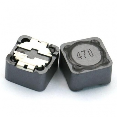 127-6R8K 6.8uH CD127, 12*12*7 SMD Power Inductor (PACK QTY-10NOS)